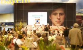"""""""Bayernhalle"""" auf der IGW 2015"""